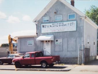 truck-parked-old-medford-building