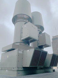 labratory-exhaust-system-on-roof