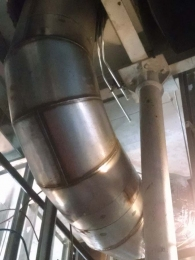 sheet-metal-duct-round-installed